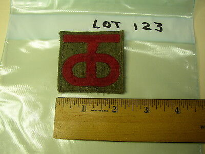WW11 /  KOREAN WAR PATCH    Lot 123