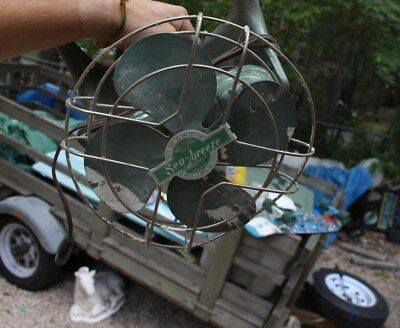 Vintage Emerson Seabreeze Model 1162 Fan With Roof Mount Toronto Canada Home