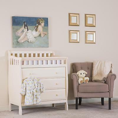 Dream On Me Marcus Changing Table And Dresser French White