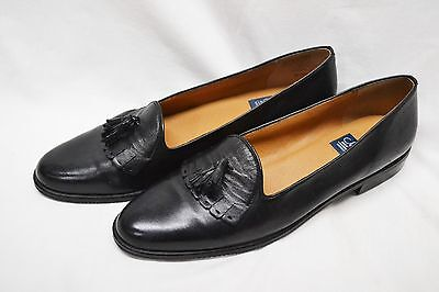 Handmade SELBY Women's Flats Sz 11 AAA Mint Cond Made in the USA Black Leather