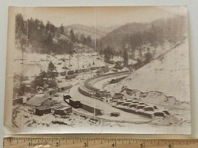 "1902 Real Photo McDowell Co., West Virginia ""Coke Ovens Under Construction"""