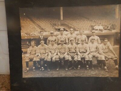 Antique very large, Photo Yale Baseball Team early 1900s; original Photo;