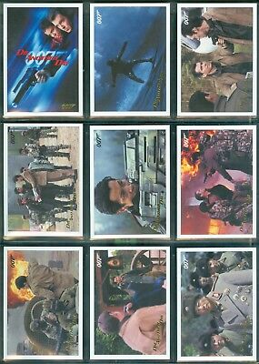 James Bond Archives 2017  83 Card Die Another Day Gold Parallel Set Only 250 set