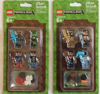 MIN038 NEW LEGO MINECRAFT SKIN 5 FROM SET 853609 MINECRAFT