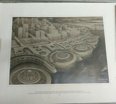 Alexander Weygers Discopter poster print #4 1950 patent 22×28 Flying Saucer UFO