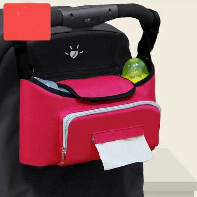 1PC Baby Stroller Pram Pushchair Hanging Organizer Waterproof Oxford Storage Bag