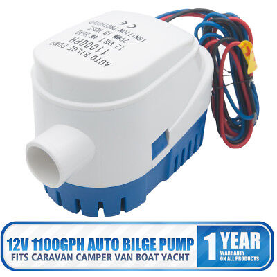 Automatic 12V 1100GBH Bilge Pump Water Pump Submersible Pump With Float Switch
