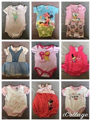 Baby Girl Size 000 Clothing X 31 Disney