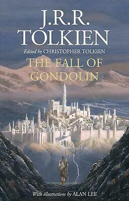 The Fall of Gondolin by J.R.R. Tolkien Hardcover Book Free Shipping!