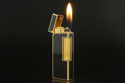 Dunhill Rollagas Lighter Refurbished NewOrings Working Over hauled Vintage #316