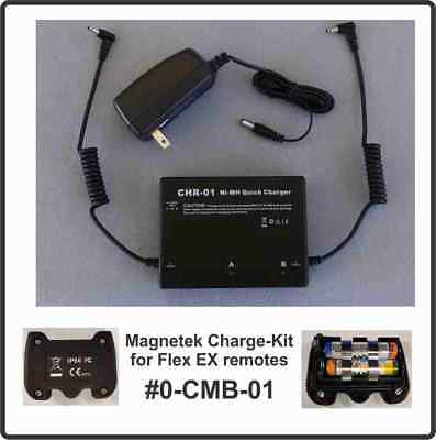 Magnetek Flex EX NiMH Battery Charger & 2 rechargeable packs _ #0-CMB-01