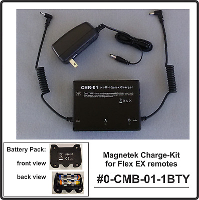Magnetek Flex EX NiMH Battery Charger & 1 rechargeable pack _ #0-CMB-01-1B