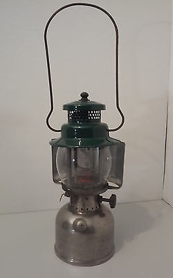 Vintage Colnan #242A Lantern, PYREX Globe, W/ RARE Light Shield. NR  WOW !!!!!!