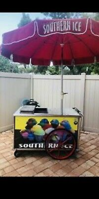 Italian Ice Cart (Nelson Cold Plate)