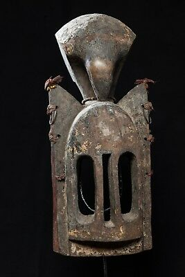 Dogon Walu Mask with Bird Headcrest, Burkina Faso, Mali.