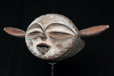 Pende Panya Ngombe Mask, Democratic Republic of Congo, Central African Art