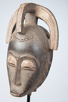 Yuare Costume Mask, Ivory Coast, African Tribal Art, African Masks