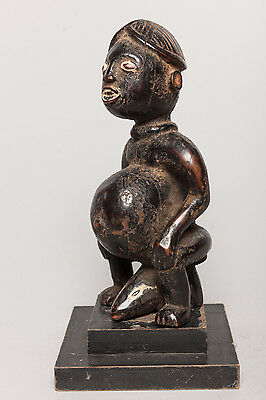 Mossi Seated Ancestor Figure, Burkina Faso, African Tribal Sculpture