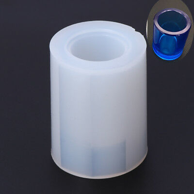 DIY Silicone Mold Brush Pot  Epoxy Resin Mould Pen Holder Office Making Crafts