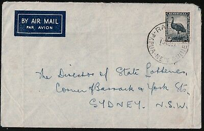 Australia 1948 Cover Used In Png Rabaul To Sydney Nsw