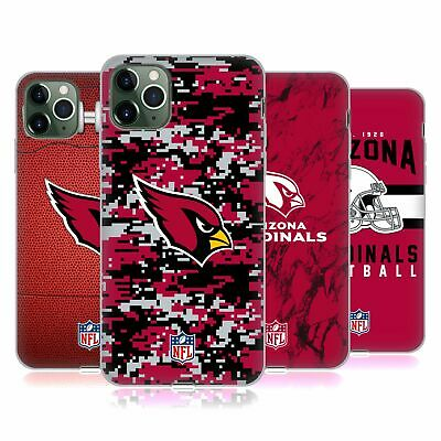OFFICIAL NFL 2018/19 ARIZONA CARDINALS SOFT GEL CASE FOR APPLE iPHONE PHONES