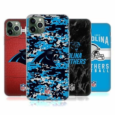 OFFICIAL NFL 2018/19 CAROLINA PANTHERS SOFT GEL CASE FOR APPLE iPHONE PHONES