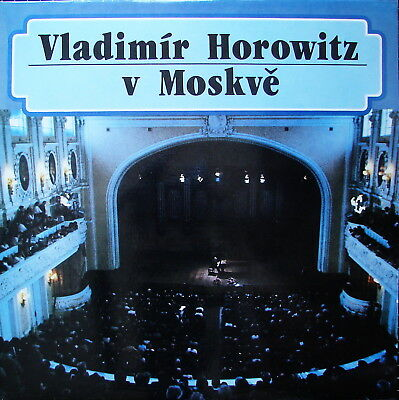HOROWITZ in Moscow - near mint - Suprophon