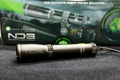 Hunting Rescue Green Laser Designator ND3 Long Distance Night Vision Scope Mount