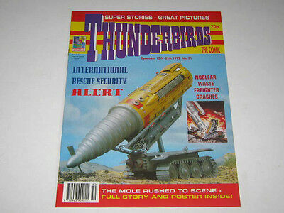 THUNDERBIRDS COMIC No 31. THUNDERBIRDS,LADY PENELOPE. MOLE CENTRE PAGES POSTER