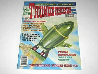 THUNDERBIRDS COMIC No 84. SPECIAL 48 PAGES ISSUE. CAPTAIN SCARLET, FIREBALL XL5