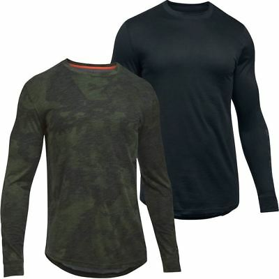 Under Armour Mens Ua Sportstyle Long Sleeve Graphic Charged Cotton® T-Shirt