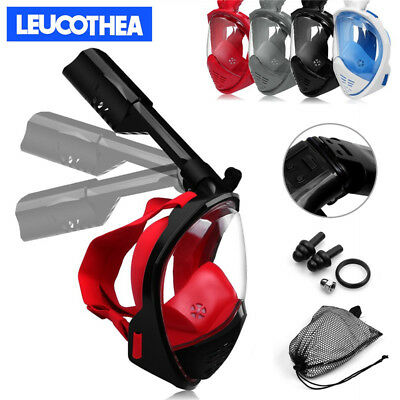 2018 New Foldaway Full Face Diving Mask Snorkel Scuba For GoPro Free Breath AU