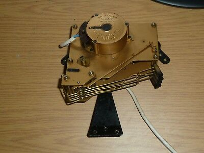 Vintage 1930's Genalex Westminster chime mantel clock movement for spares