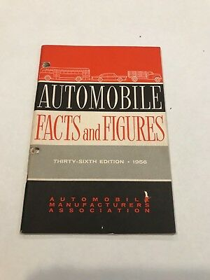 Automobile Facts and Figures 36th ed. 1956 Automobile Manufacturers Assoc.