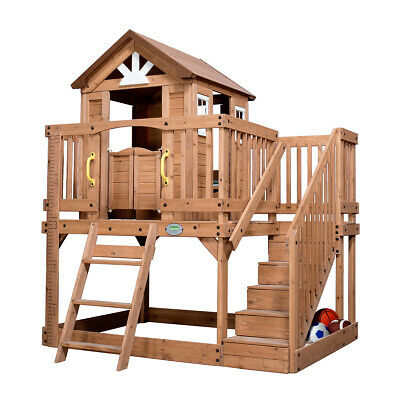 Backyard Discovery Kids Scenic Heights Outdoor Cubby House