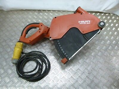 Hilti DCH300 Dry Electric Hand-Held Diamond Power Cutter 110 Volt
