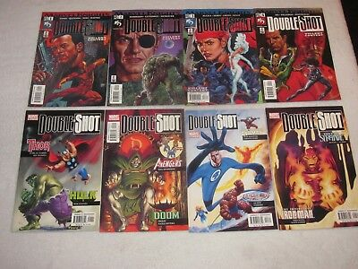 Marvel Knights Double-Shot 1-4 2002 Garth Enis Punisher & Double Shot 1-4  2003