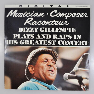 LP: Dizzy Gillespie plays and raps in his greatest concert - Pablo Live D2620116