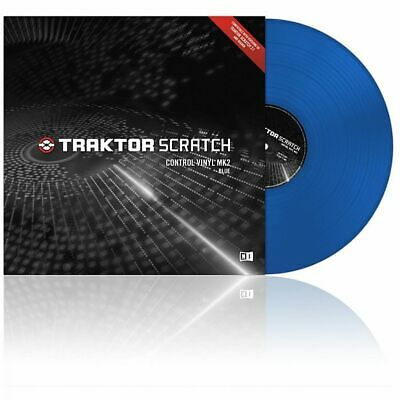 Native Instruments Traktor Control Vinyl MK2 - Blue