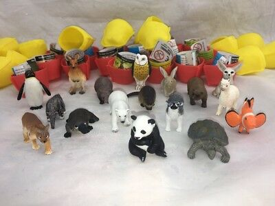 Yowies American Launch Series Limited Edition Set Of 17 Animals. 2015