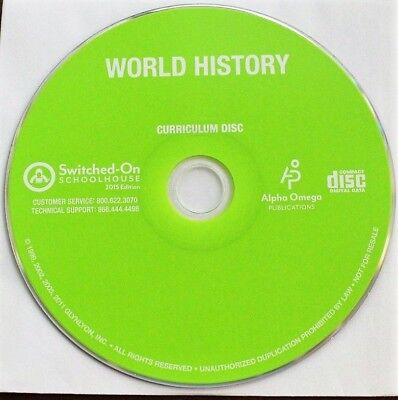 SWITCHED ON SCHOOLHOUSE 10TH WORLD HISTORY 2015 Edition