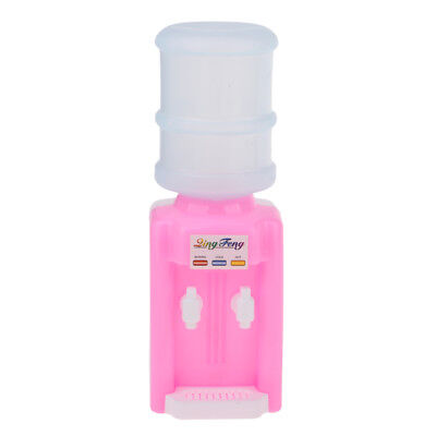 Pink Water Dispenser For Barbie Siter Kelly Doll Dollhouse Miniature Toys