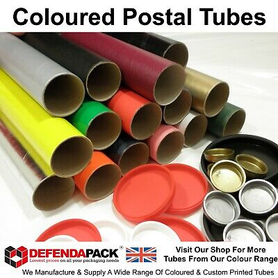 "50 x 37"" 940mm LONG x 2"" 50mm DIAMETER BLUE COLOURED A0 Poster Art Postal TUBES"