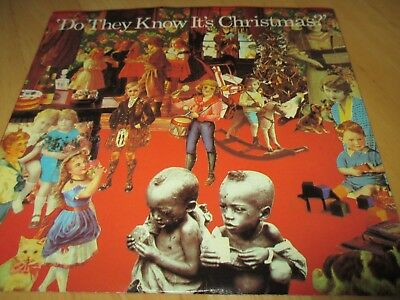 Band Aid- Do They Know It's Christmas B/w - Feed The World,w/pic.sleeve Vg+/vg+