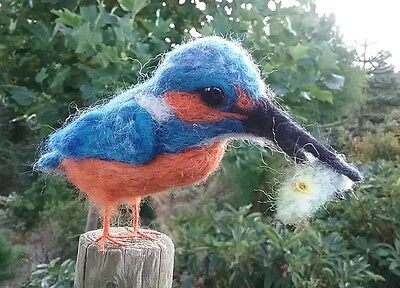 Kingfisher needle felt kit