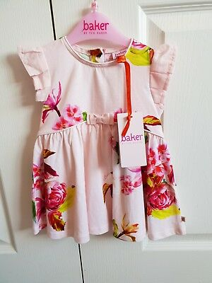 TED BAKER BABY GIRLS DRESS 3-6MONTHS New With Tags