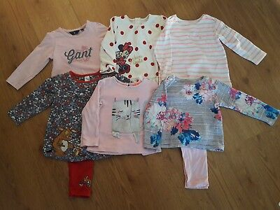 Girls Bundle Autumn winter Clothes 12-18 months Joules, Gant, Gruffalo, Disney