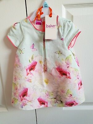 Ted Baker Baby Girls Dress 6-9Months. New With Tags