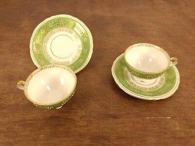 Lot of 11 HAL-SEY FIFTH AVE Royal Bavaria Germany Cup /& Saucer Gold /& Violets