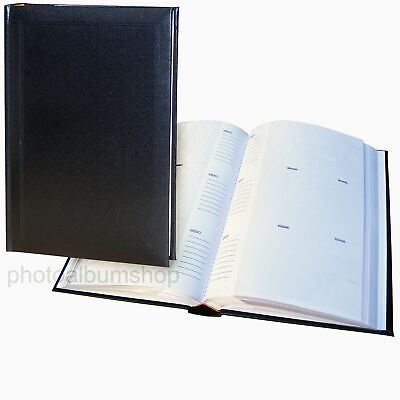 Ascot 6x4 slip-in 300 black photo album